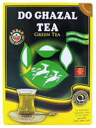 DO GHAZAL TEA čaj zelený sypaný 500g