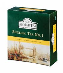 AHMAD TEA ENGLISH TEA NO.1 - 100 sáčků